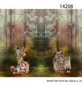 Stenzo Digitaal paneel In the wood XXL