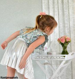 Lotte Martens Paneel limonium silver plisse - Lotte Martens
