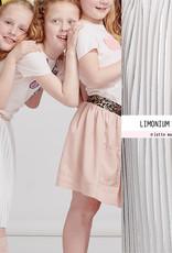 Paneel limonium silver plisse - Lotte Martens