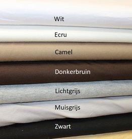 Coupon 1.05x1.40m Uni tricot muisgrijs