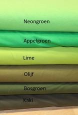 Uni tricot bosgroen