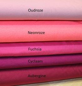 Uni tricot neon rose
