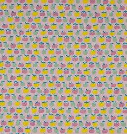 Poppy Katoen Glitter Yummie Apple Cerise