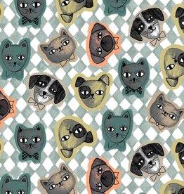 Poppy Katoen Cats&Dogs