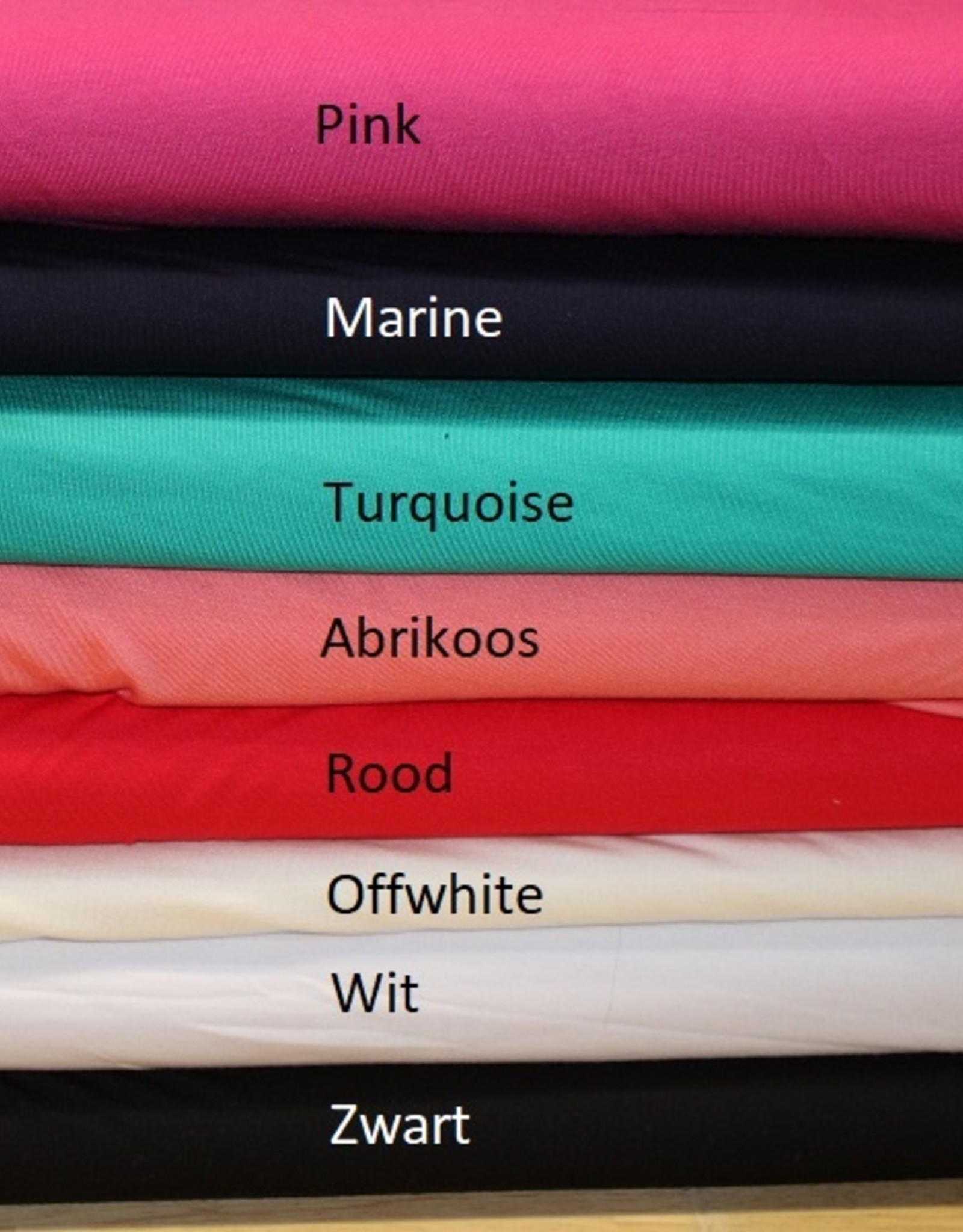 Toptex Bamboe tricot offwhite