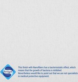 SANITIZED ANTI-BACTERIAL poplin katoen wit specifiek voor mondmaskers