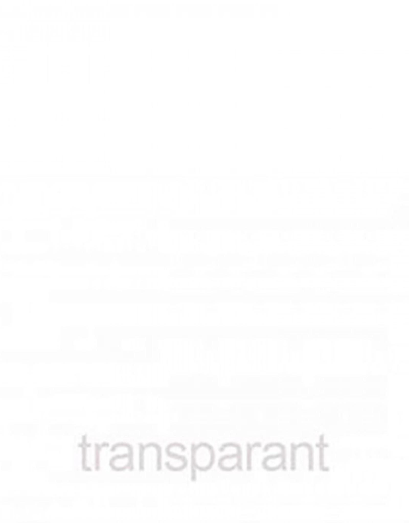 Vinyl statisch transparant