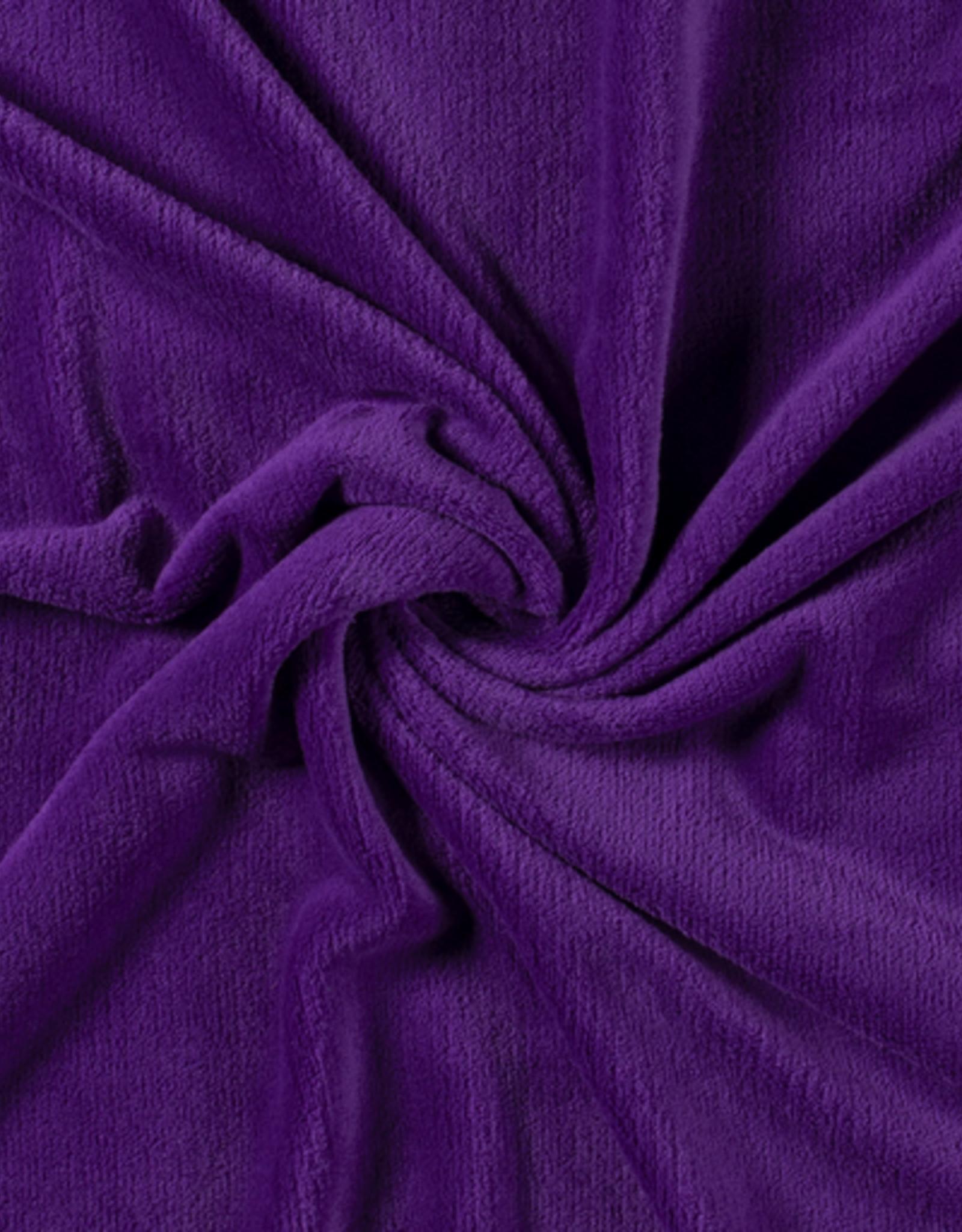 Wellnessfleece paars