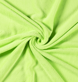 Wellnessfleece fluogroen neon lime