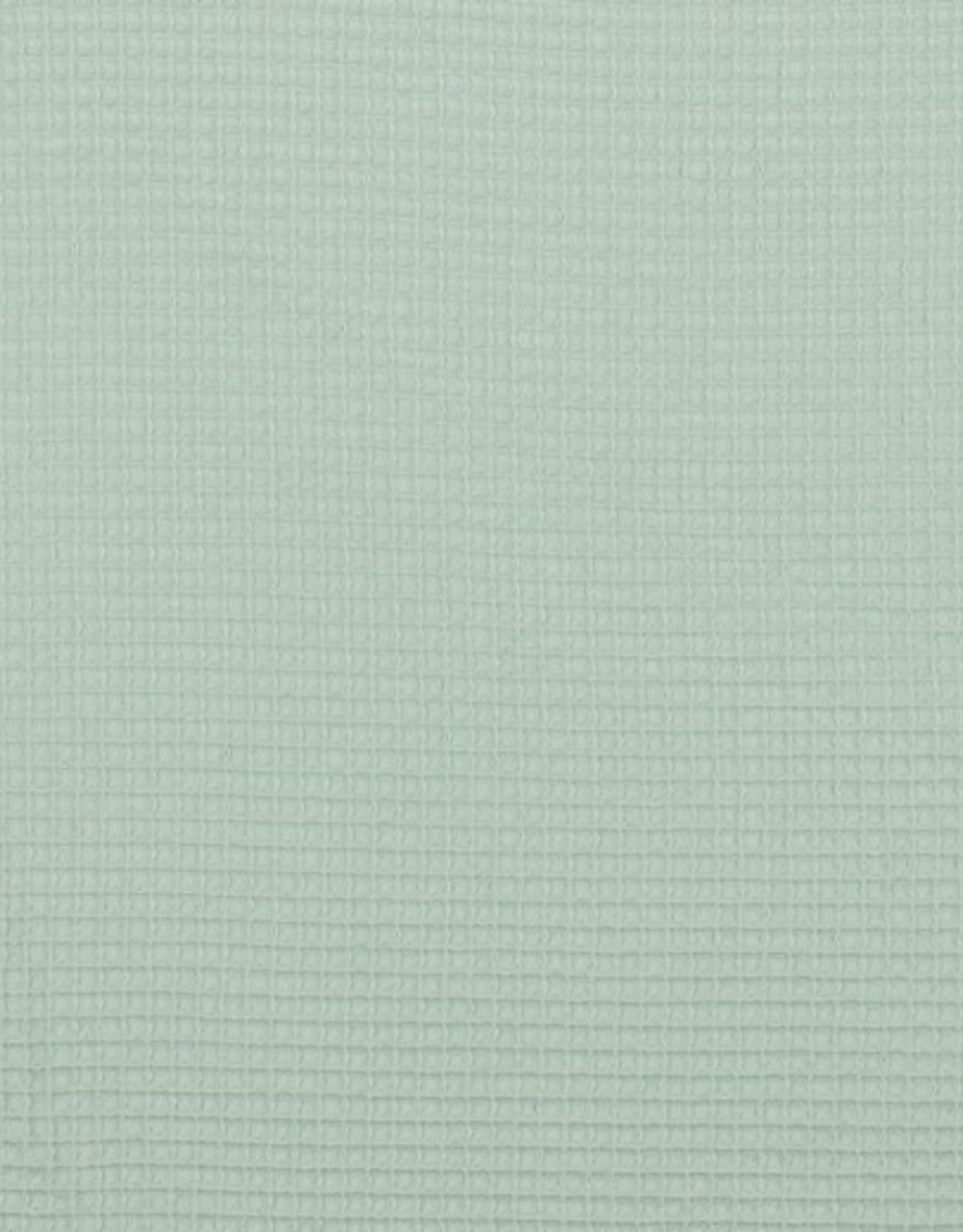 Poppy Wafel katoen mint