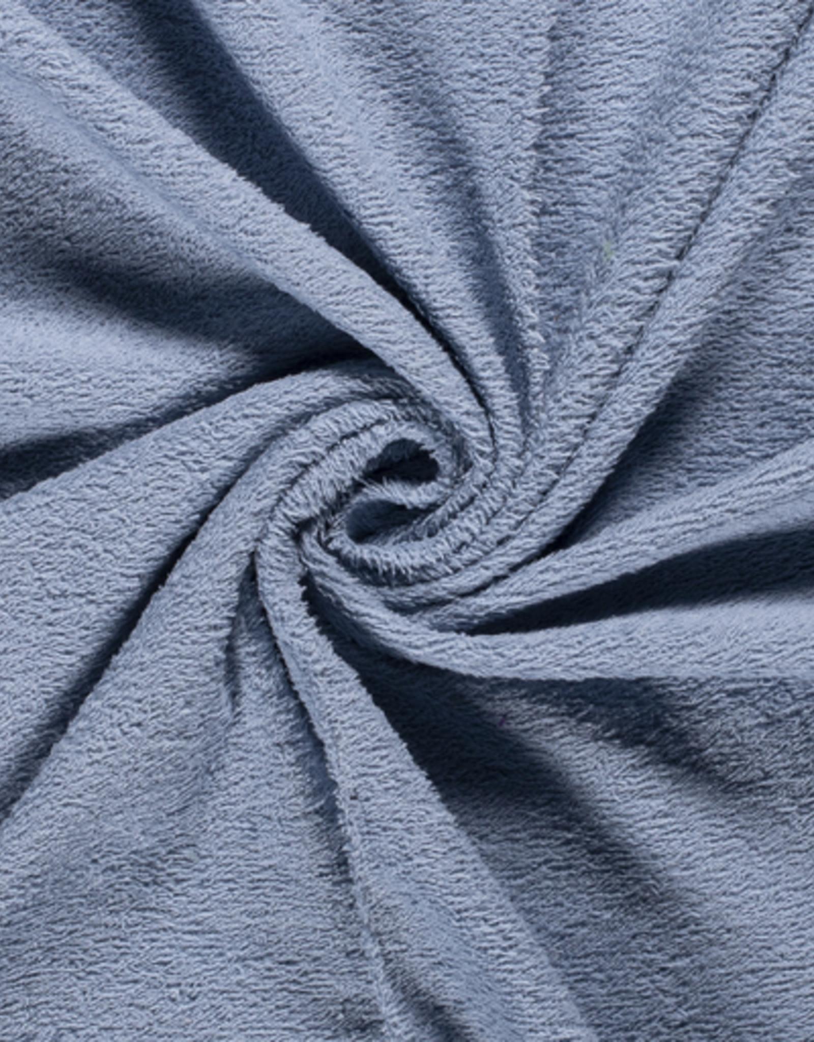 Badstof Indigo blauw