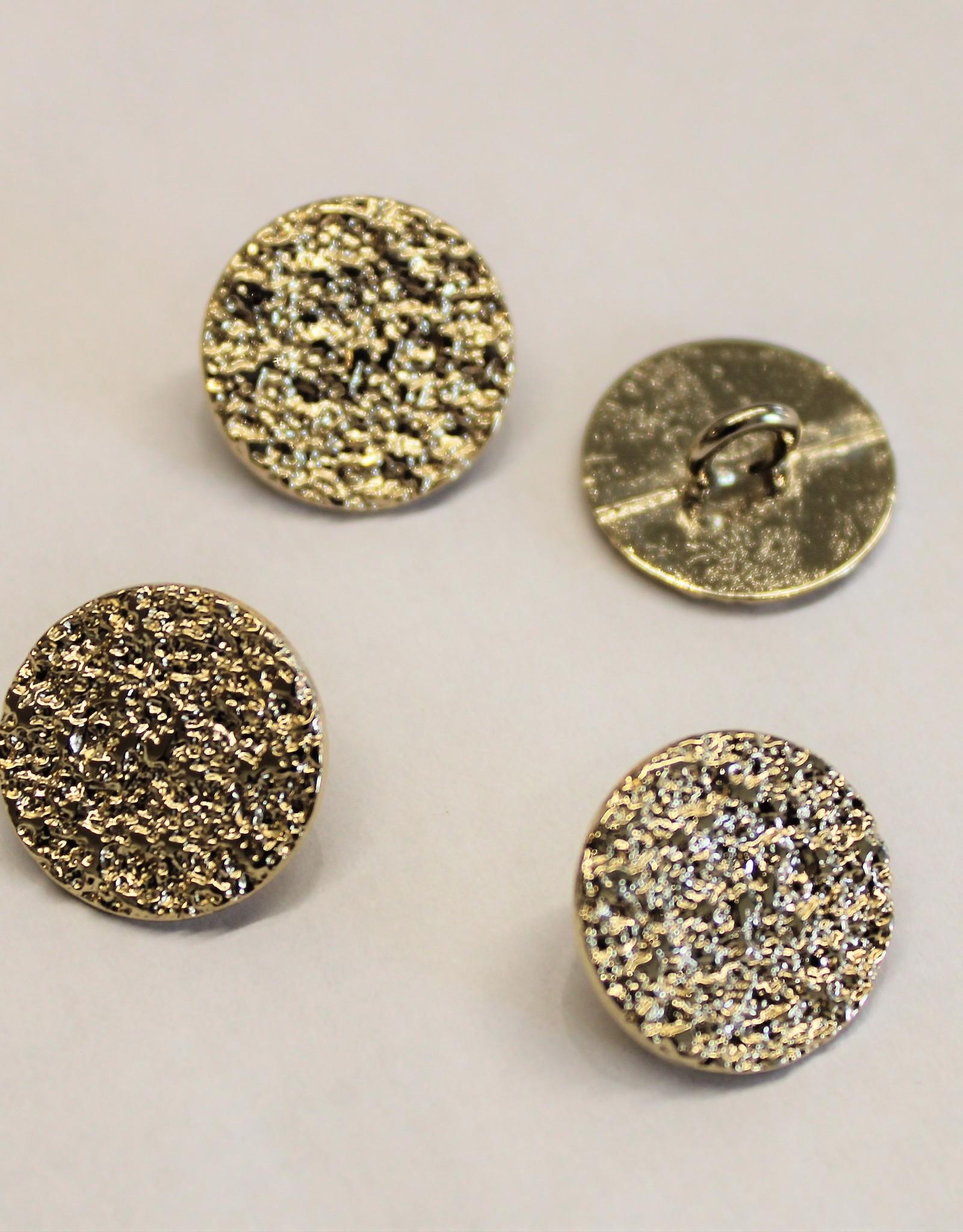 sierknoop metaal craquelé goud 24mm