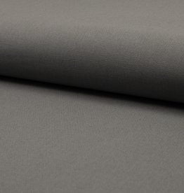 COUPON  canvas middengrijs 65x140cm