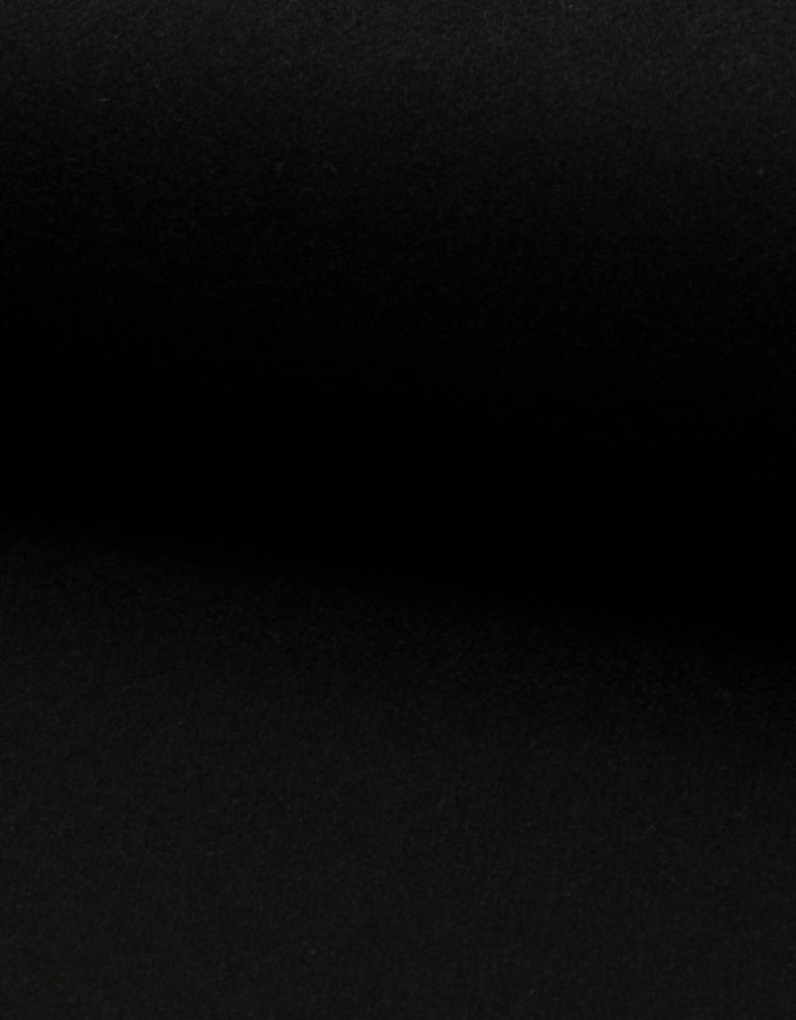 mantelstof zwart