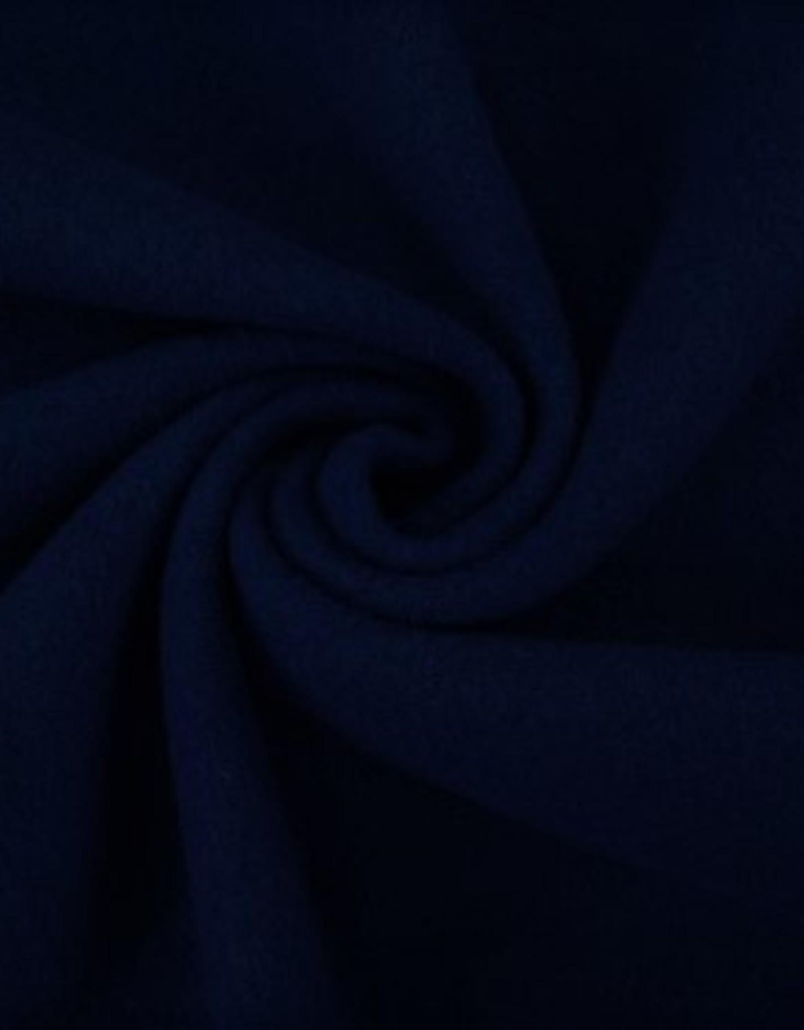 mantelstof wol kobaltblauw