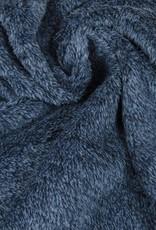 Hilco Chacky supersoft fleece mélange blauw