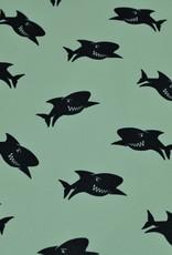 Poppy Softshell Sharks blue