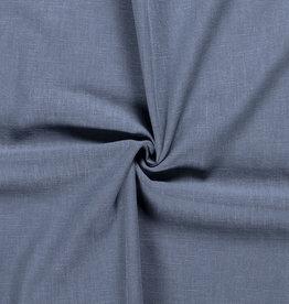 Linnen indigo jeanskleur