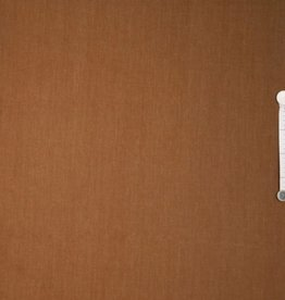 COUPON Twill denim Koffie donkeroker 140x140cm