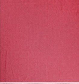 Organic denim stretch Rumba rood