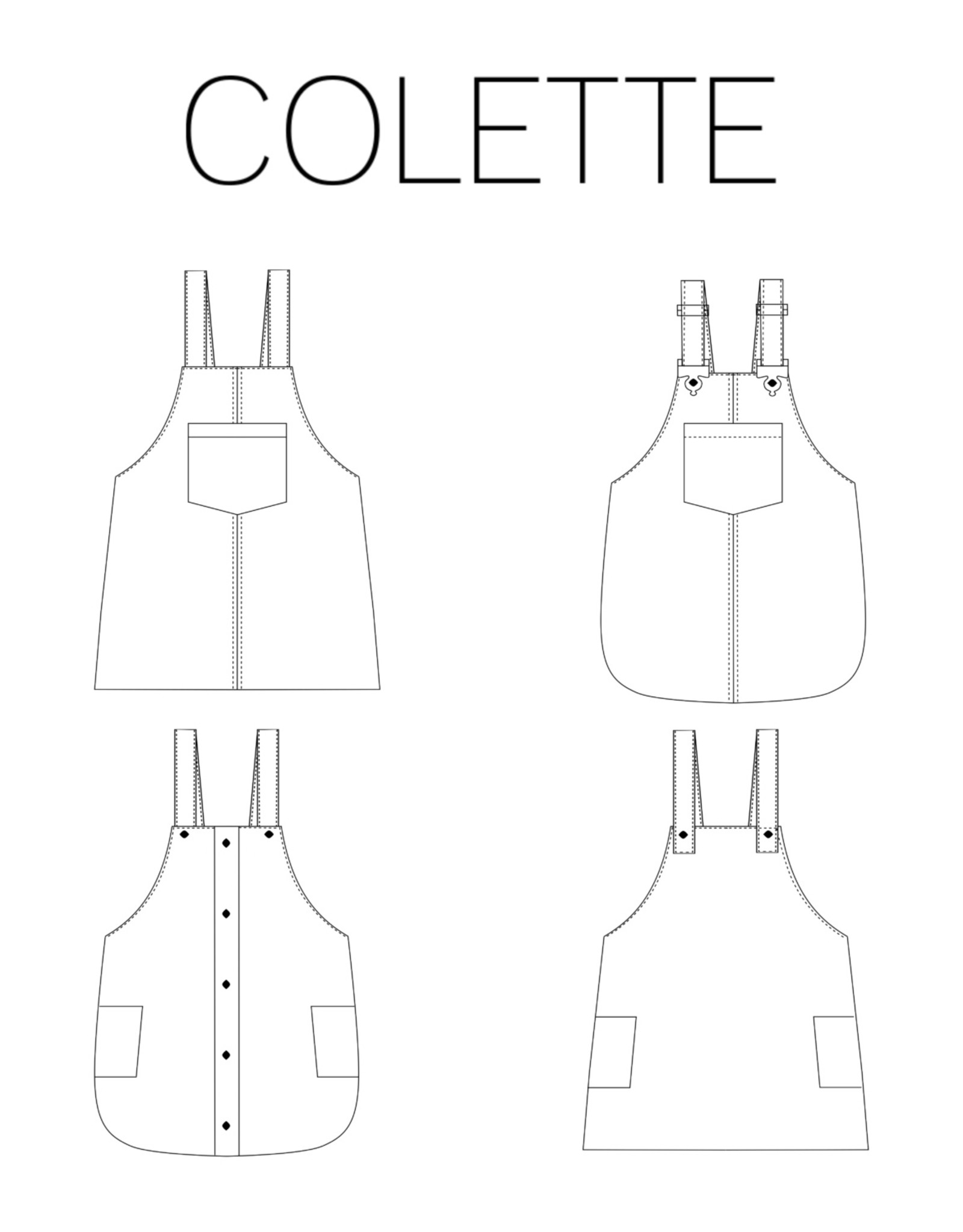 Iris May Colette Salopette  - Iris May