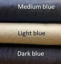Chambray denim medium blue