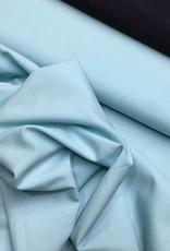 COUPON  Katoen batist Pastel Turquoise 45x140cm