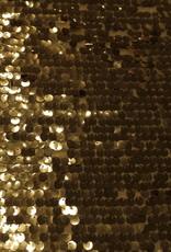 Paillettenstof goud