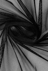 Bruidstule soft stretch zwart