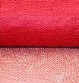 Tule rood - stijf