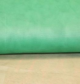 Tule groen - stijf
