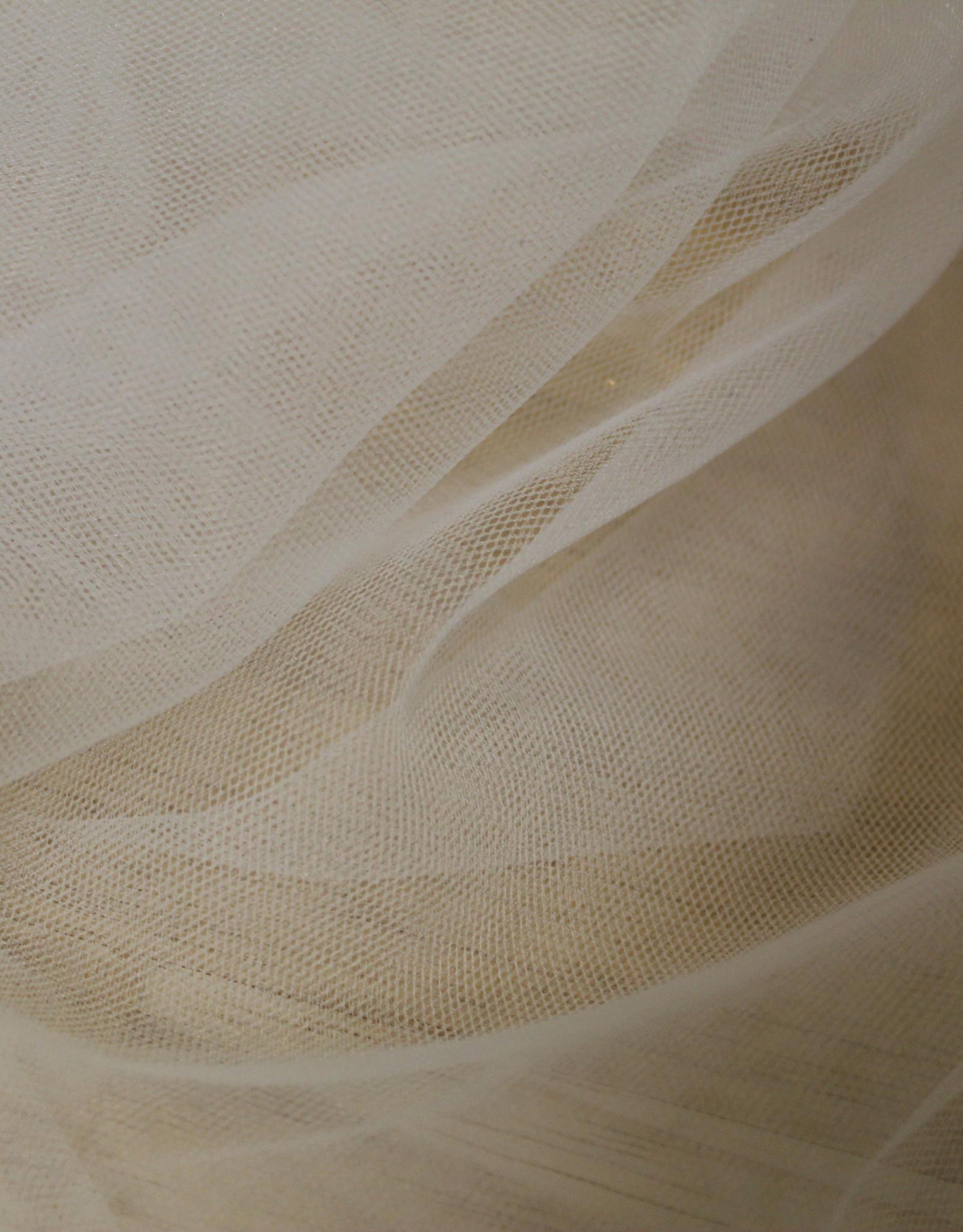 Bruidstule soft stretch offwhite