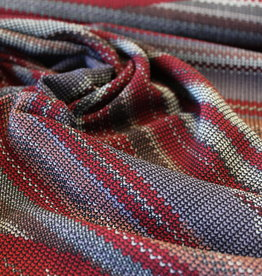 A La Ville Haute Couture Crepe bordeau patroon