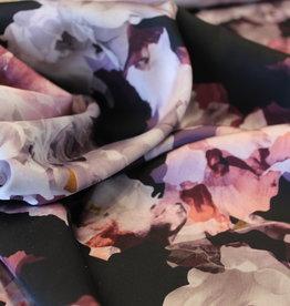 A La Ville Haute Couture Satijn abstract flower