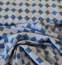 Milliblu's COUPON Denim days lichtblauw viscose 70x140cm