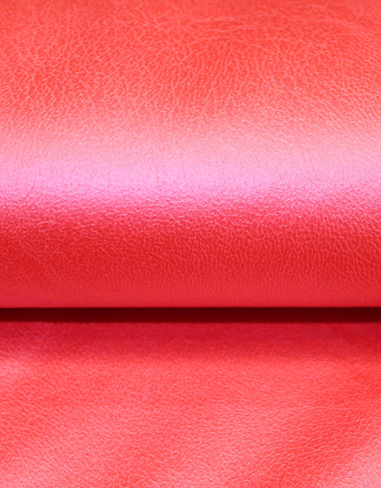 Nooteboom Soepel nepleder rood