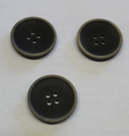 knoop 40mm grijs mélange