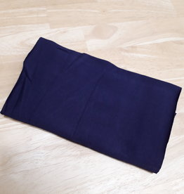 COUPON Uni tricot navy (20cm x 140cm)