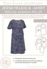 Jerseykleed en T-shirt vrouwen No 36