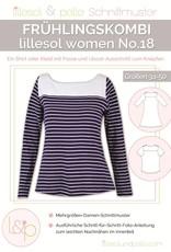 Voorjaarskleed en T-shirt vrouwen No 18