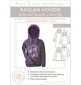 Lillesol & Pelle Raglan hoodie kids No 65