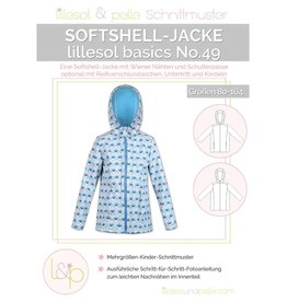 Lillesol & Pelle Softshell jas kids No 49