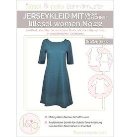 Lillesol & Pelle Jerseyjurk met boothals vrouwen No 22