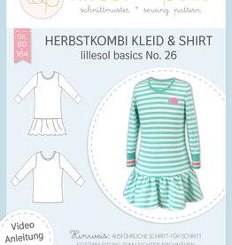 Lillesol & Pelle Herfstcombi kleed & T-shirt kids No 26