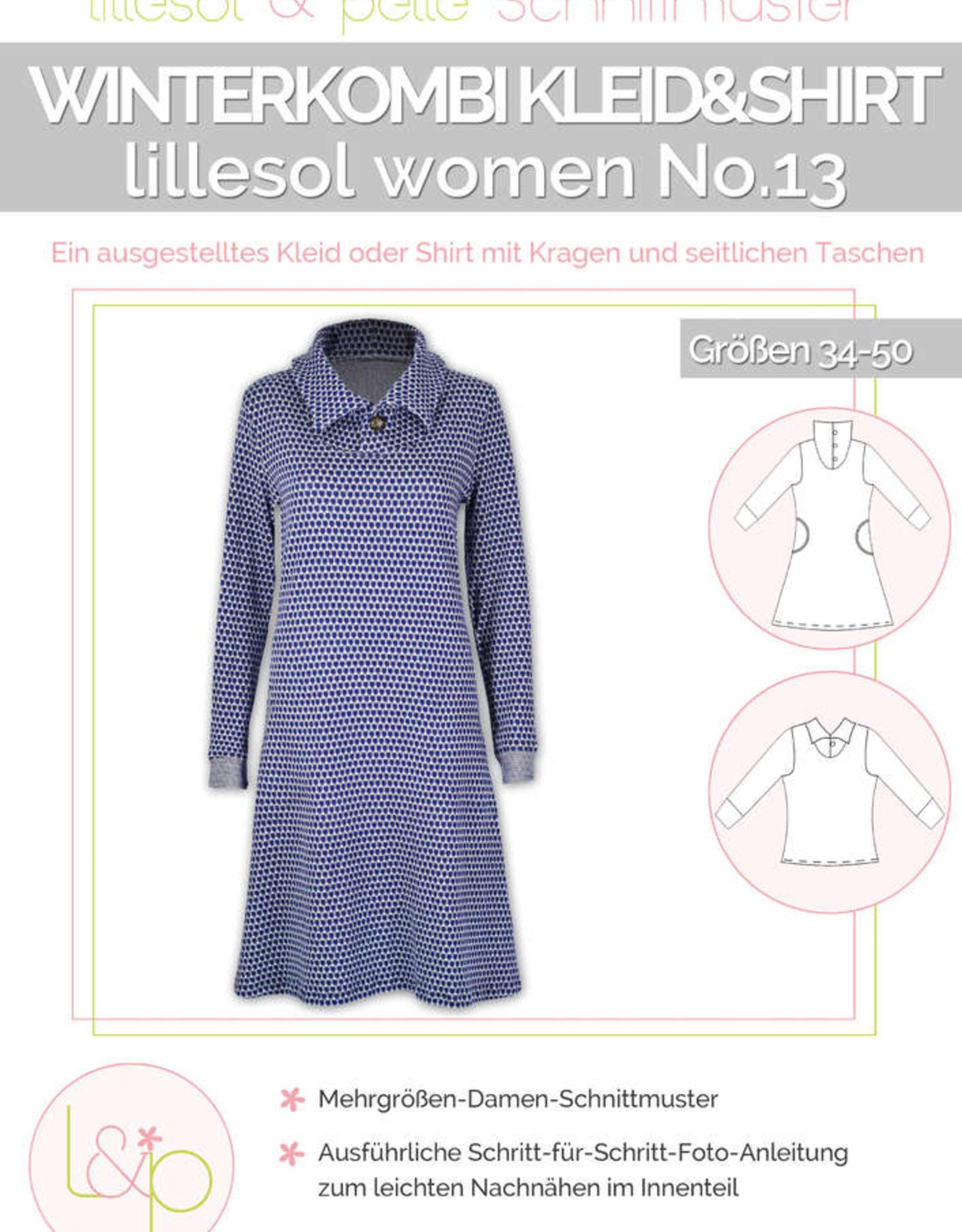 Winterkleed en T-shirt vrouwen No 13