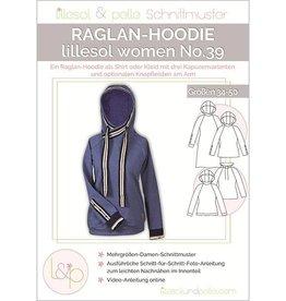 Lillesol & Pelle Raglan Hoodie vrouwen No 39