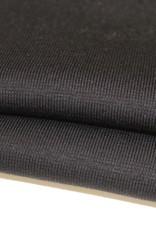 boordstof zwart 46cm tubular