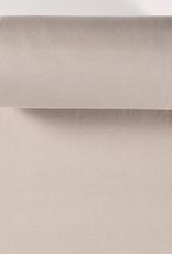 boordstof fijne rib beige 35cm tubular