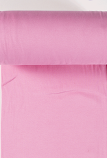 boordstof fijne rib lichtrose 35cm tubular