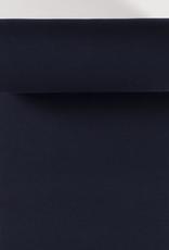 boordstof fijne rib navy blue 35cm tubular